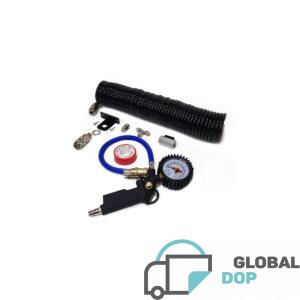 Комплект для подкачки колес с быстроразъемом Рапид (Евро) (шланг 10 метров)