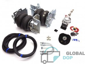 Пневмоподвеска для Форд Транзит V348 (задний привод + спаренные колеса) комплект c управлением (1 контур)