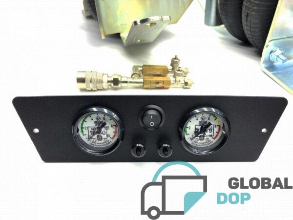 Пневмоподвеска для Рено Мастер 3 (задний привод) комплект c управлением (2 контура)