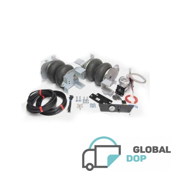 Пневмоподвеска для Рено Мастер 3 (задний привод) комплект c управлением (1 контур)