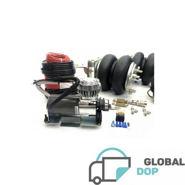 Пневмоподвеска для Форд Транзит передний привод c управлением 2К Стандарт_1