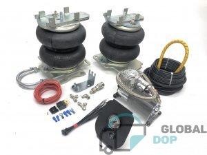 Пневмоподвеска для Форд Транзит V363 (задний привод + односкатная ось) +4х4, комплект c управлением (1 контур)