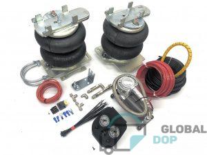 Пневмоподвеска для Форд Транзит V363 (задний привод + односкатная ось) +4х4, комплект c управлением (2 контура)