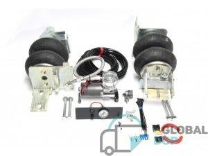 Пневмоподвеска для Мерседес Спринтер 509-528 (W906) (задний привод, спарка) комплект c управлением (1 контур)