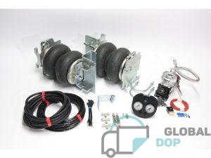 Пневмоподвеска для Форд Транзит V348 (задний привод + спаренные колеса) комплект c управлением (2 контура)