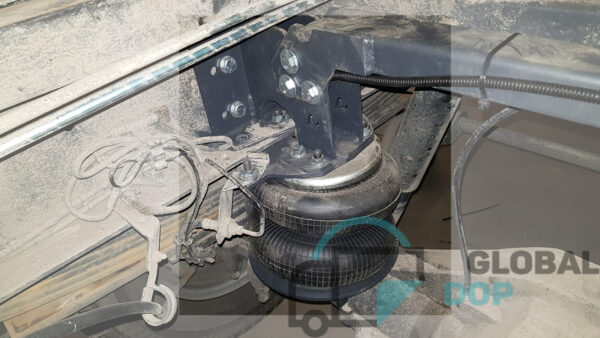 Iveco Daily 65C (04-), задняя ось, основной комплект